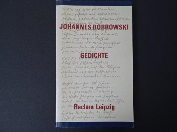 Gedichte Johannes Bobrowski